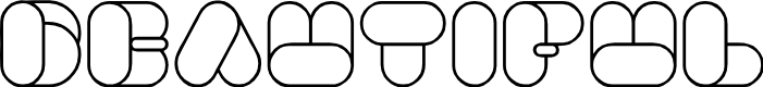 Preview image for BEAUTIFUL Font