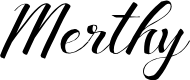 Preview image for Merthy Font