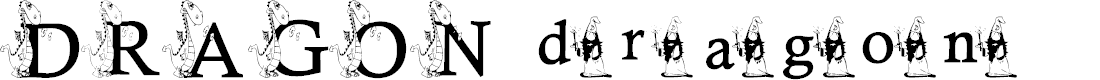 Preview image for KG DRAGON Font