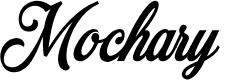Preview image for Mochary PERSONAL USE ONLY Font