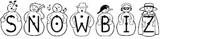 Preview image for JFSnowbiz Font