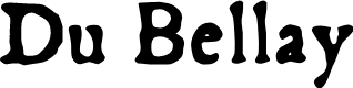 Preview image for Du Bellay Font