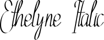 Preview image for Ethelyne Italic