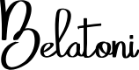 Preview image for Belatoni Font