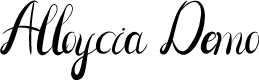 Preview image for Alloycia Demo Font