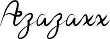 Preview image for Azazaxx Font
