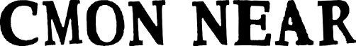 CMON NEAR font