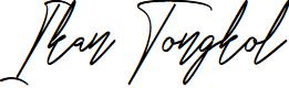 Preview image for Ikan Tongkol Font