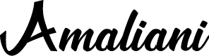 Preview image for Amaliani Font