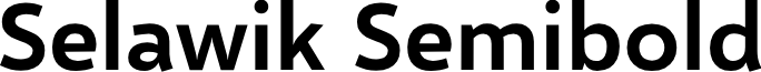 Selawik Semibold