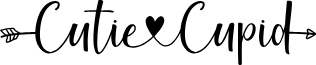 CutieCupidPersonalUse font