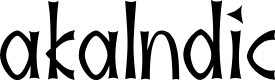 Preview image for akaIndic Font