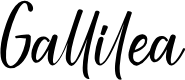 Preview image for Gallilea Font