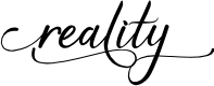 Preview image for reality Font