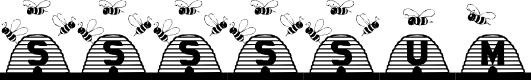Preview image for Sssssum Font
