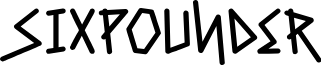 Sixpounder-Bold