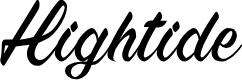 Preview image for Hightide Font