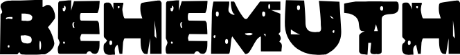 Preview image for Behemuth Font