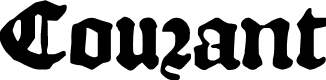 Preview image for DKCourant Font