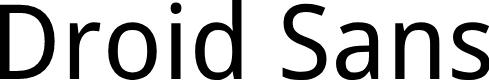 Preview image for Droid Sans Font
