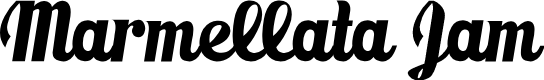 Preview image for Marmellata (Jam)_demo Font