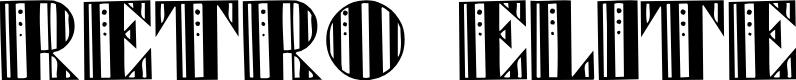 Preview image for Retro Elite Font