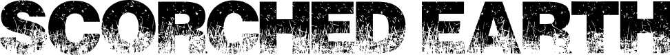 Preview image for ScorchedEarth Font