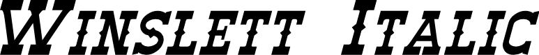 Preview image for Winslett Italic