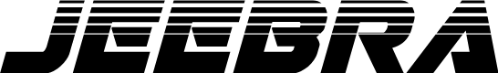 Preview image for Jeebra Halftone Italic