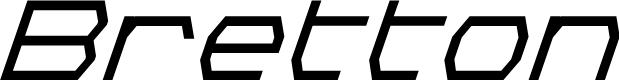 Preview image for Bretton Bold Super-Italic