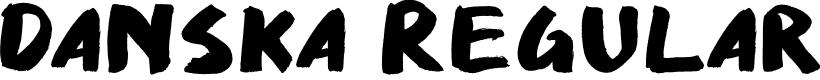 Preview image for Danska Regular Font