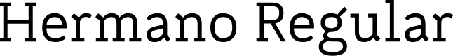 Preview image for Hermano Regular Font