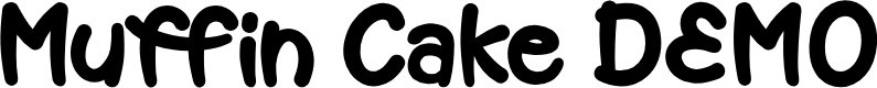 Preview image for Muffin Cake DEMO Font