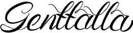 Genttalla font