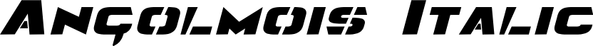 Angolmois Italic