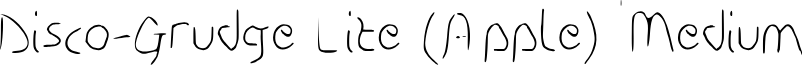 Disco-Grudge Lite (Apple) Medium
