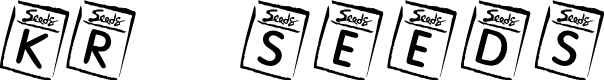 Preview image for KR Seeds Font