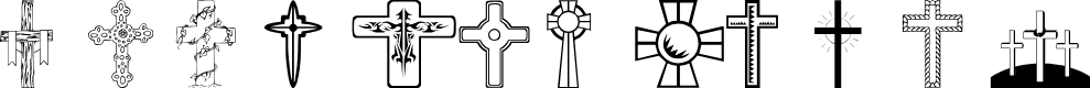 Preview image for wmcrosses1 Font
