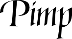 Preview image for Pimp Font
