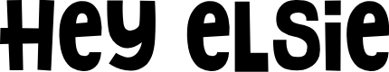 Preview image for Hey Elsie Font