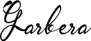 Preview image for Garbera Font