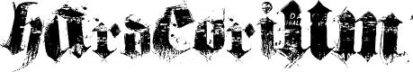 Preview image for hardcorium Font