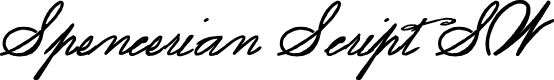 Preview image for Spencerian Script SW