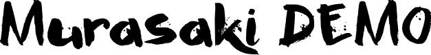 Preview image for Murasaki DEMO Regular Font