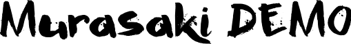 Murasaki DEMO Regular