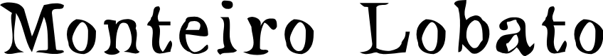 Preview image for Monteiro Lobato Font