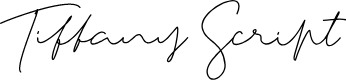Preview image for Tiffany Script Font