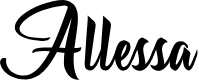 Preview image for Allessa Personal Use  Font