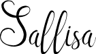 Preview image for Sallisa Font