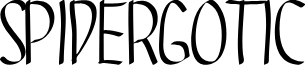 SPIDERGOTIC